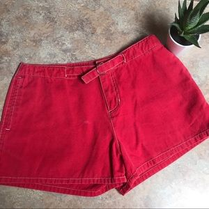 Old Navy red shorts🌹